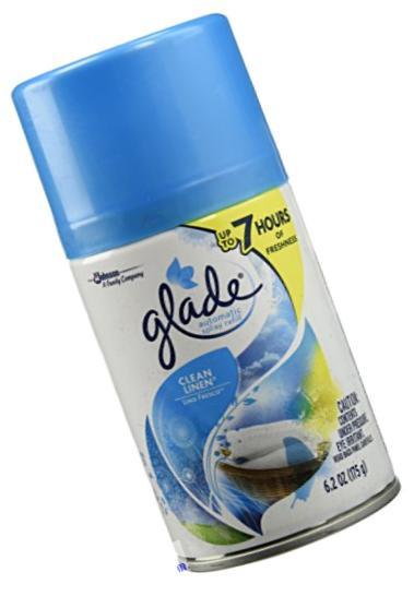 Glade Automatic Spray Refill - Clean Linen 6.2 oz. (Pack of 6)